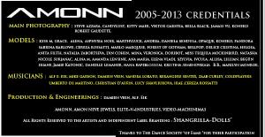 credits copy
